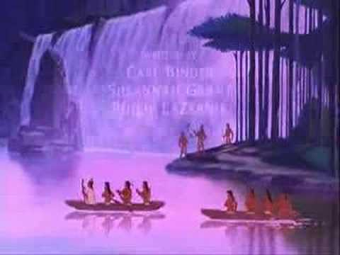 Pocahontas - Steady As The Beating Drum (English)