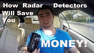 Why Buying A Radar Detector Will SAVE you MONEY! (Escort Max360)