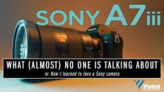Sony A7iii and what (almost) no one is talking about