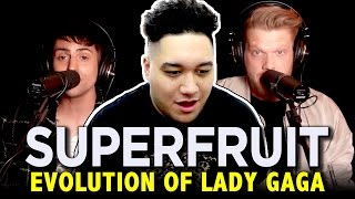 Download Lagu Superfruit - Evolution of Lady Gaga REACTION!!! Gratis STAFABAND