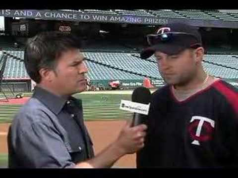 Scott Miller with Michael Cuddyer Video