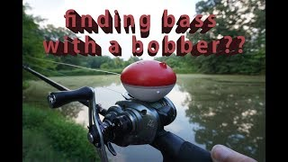 FINDING FISH with a bobber?? - fishing with the ibobber
