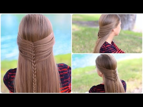 Mermaid Half Braid Tutorial | Cute Hairstyles