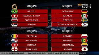 Así quedaron conformados los grupos del Mundial Rusia 2018