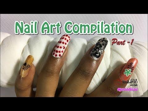 Nail Art Compilation | Part-1