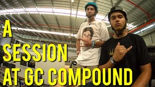 Jesse Bayes and Darcy Cherry-Evans- Session at GC Compound