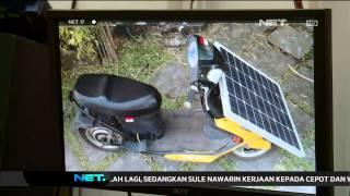 Pemuda Pontianak Manfaatkan Tenaga Surya Sebagai Penggerak Motor -NET17