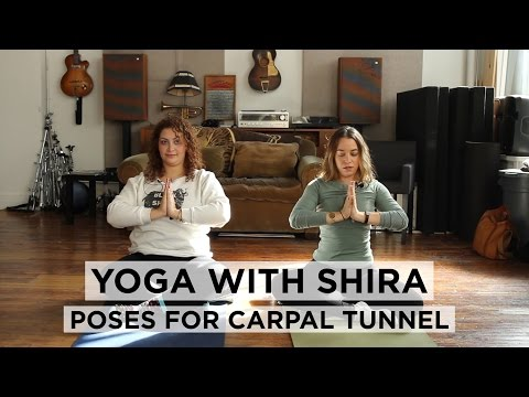 Yoga With Shira: Yoga for Knitters & Crocheters, Poses for Carpal Tunnel!