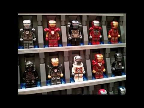 SPECTACULAR IRON MAN ARMORY!