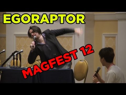 Egoraptor at MAGFest 12 / 2014 (with subtitled questions)