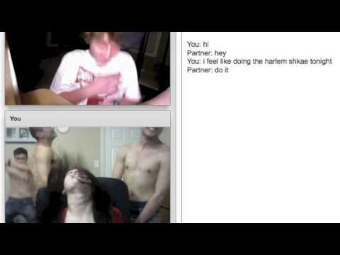 Asian Girl Harlem Shakes in Chat Roulette