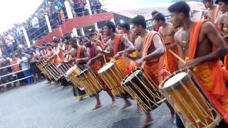 Thaymbaka boys at sannidanam
