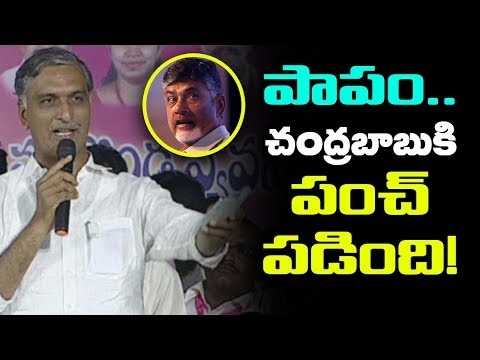TRS Harish Rao Serious On Chandrababu | Minister Harish Rao About Kaleshwaram Project |Mana Aksharam