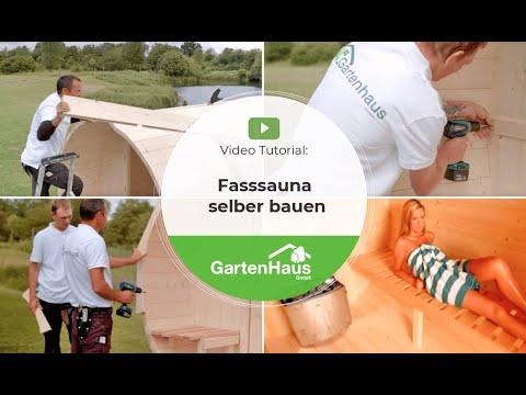 Video Tutorial: Fasssauna Selber Bauen