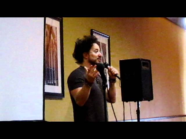 'Ancient Aliens' Giorgio A. Tsoukalos gives a talk at Wonderfest 2012 (1 of 6 Parts.)