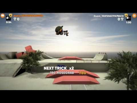 Stickman Skate Battle APK Cover