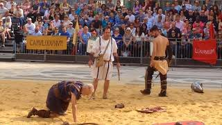 Londinium festival: Gladiator games at the London Guildhall Saturday 26th August 2017