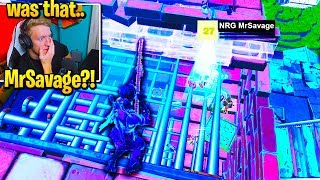 TFUE CLIX *STUNNED* FaZe Sway DOES THIS to PRO in Tournament! (Fortnite)