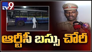 RTC bus stolen from CBS in Hyderabad