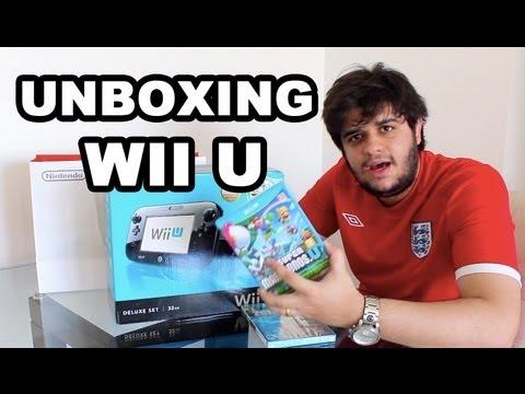 Nintendo Wii U: Unboxing ( PT - BR )