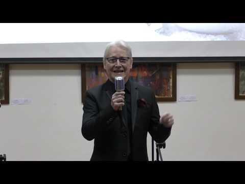 Karácsonyi koncert. Énekel: Granville Pillar és az Angol Tanszéki Csoport hallgatói.