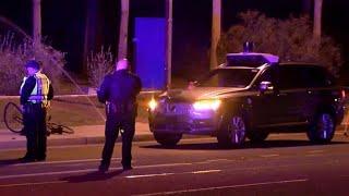 Fatal self-driving Uber crash raises safety concerns