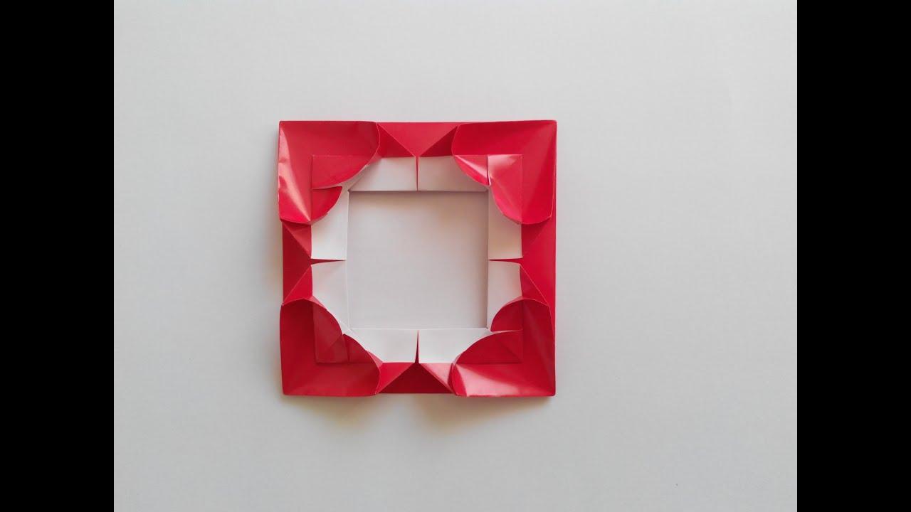 Рамка для фото своими руками оригами