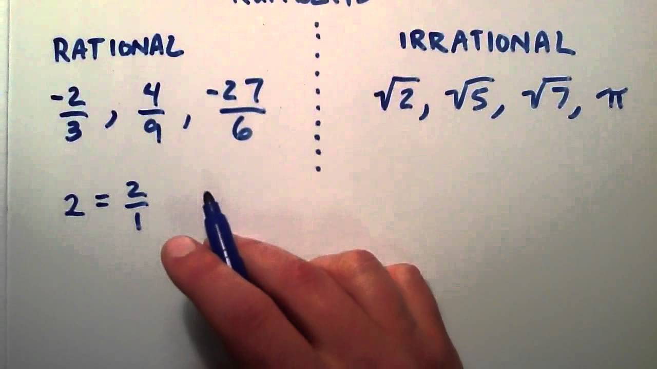 What Is The Difference Between Rational And Irrational