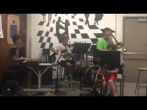 A Short Clip Of Connolly Middle School Jazz Band Summer School 2014