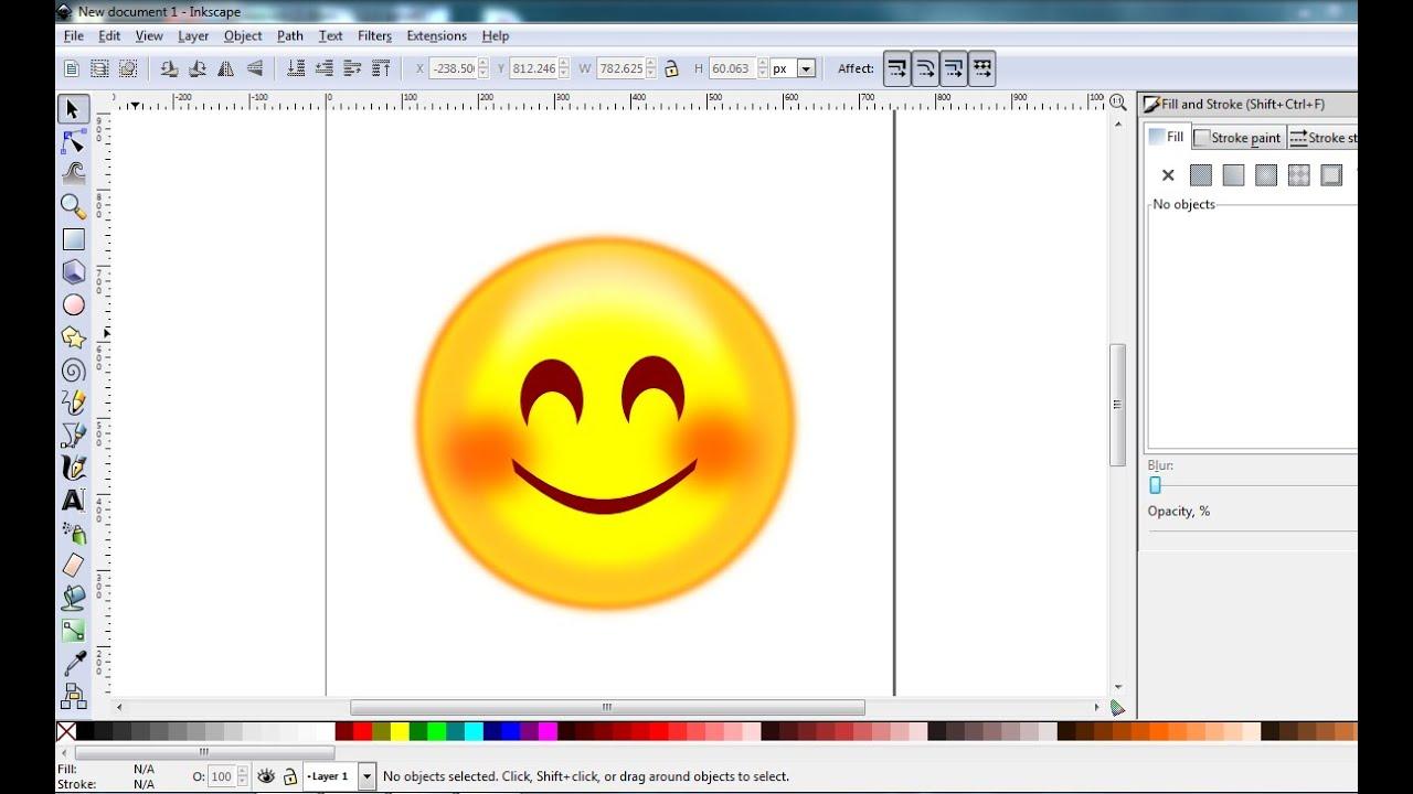 Как сделать логотипа в inkscape