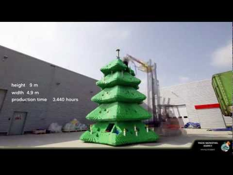 Asia's tallest LEGO® Christmas tree at LEGOLAND® Malaysia