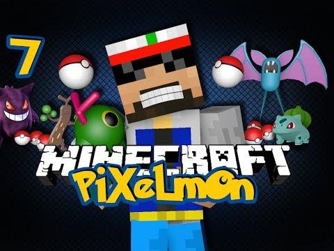 Minecraft Pixelmon 7 - BATTLE TEAM  (Pokémon in Minecraft)