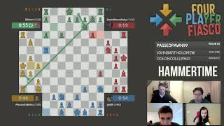 4-Player Chess Is Better Without Queens