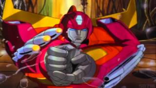 Transformers G1 The Movie Hot Rod Saves Kup