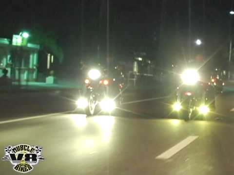 Badass Boss Hoss Burn Outs - V8MuscleBikesTV by IntroubleZone Studios