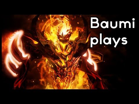 Dota 2 | CASTER SHADOW FIEND IS FINALLY GOOD!! | Baumi plays Shadow Fiend