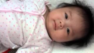 Bé Dưa Hấu 3 tháng tuổi nói chuyện với mẹ