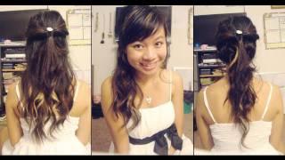 3 Elegant Homecoming Hairstyles