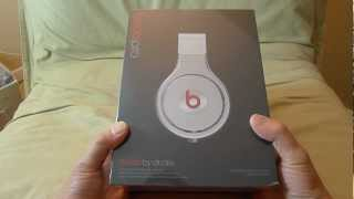 First Look REVISED 2012 Black Beats Pro unboxing