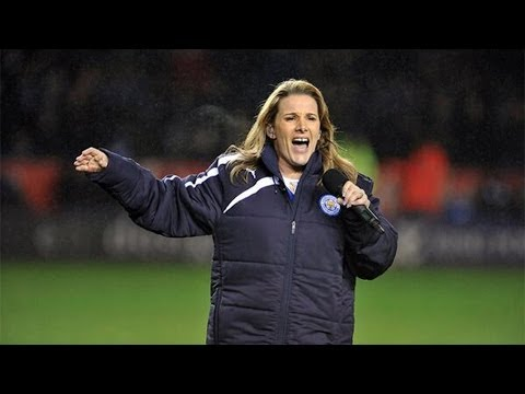 Sam Bailey Sings 'Skyscraper' at King Power Stadium