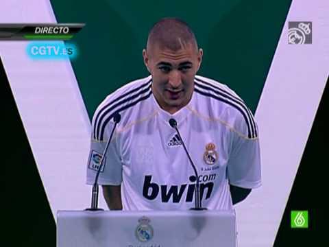 (HD) Presentacion Completa Karim Benzema (Real Madrid)