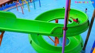 #2 Anak Berenang Bermain Air & Perosotan Water slide Kolam Renang Fun Kids Water Park