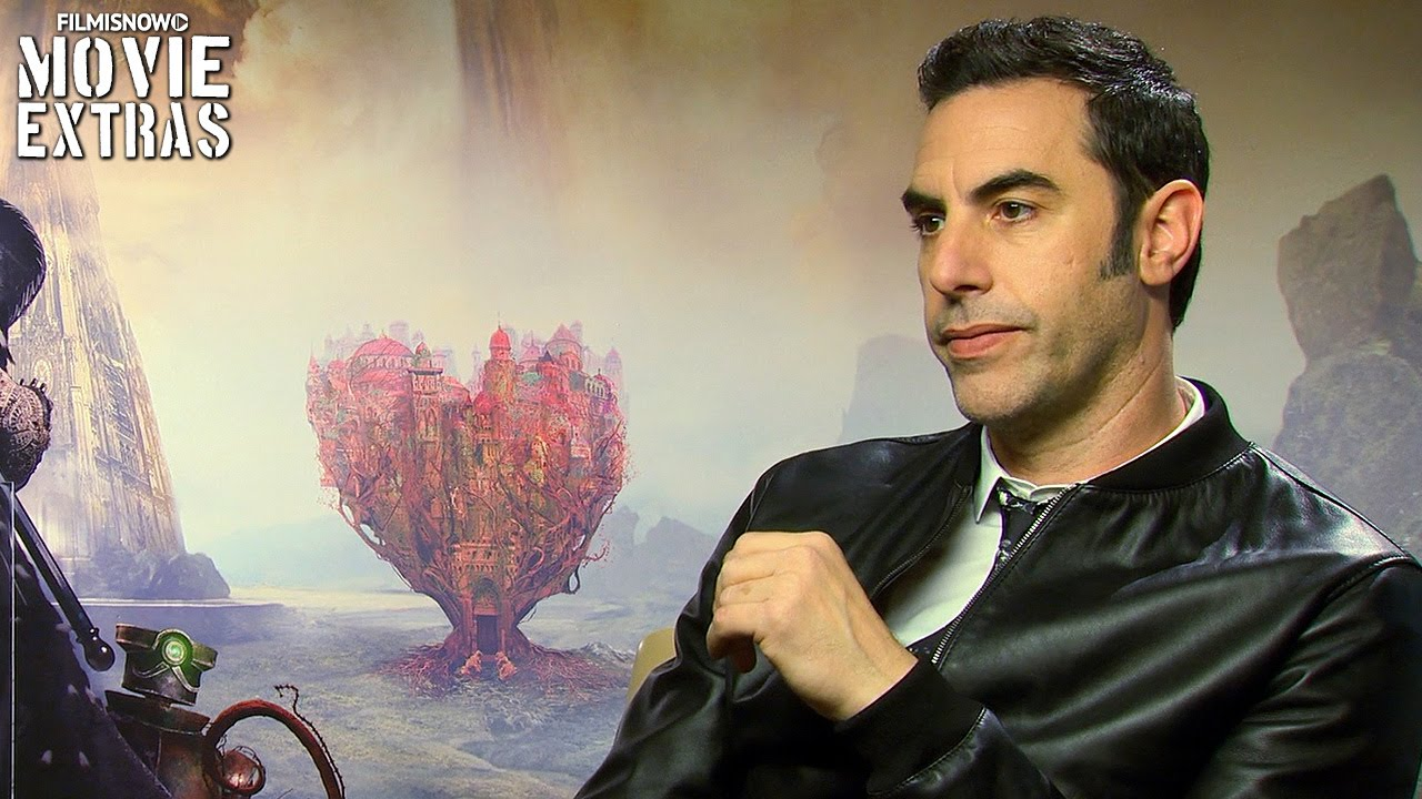 Sacha Baron Cohen talks about Alice Through the Looking Glass (2016)