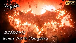 Batman Arkham Knight Final Secreto 100% Español - Protocolo Knightfall (Completo) + Cancion Joker