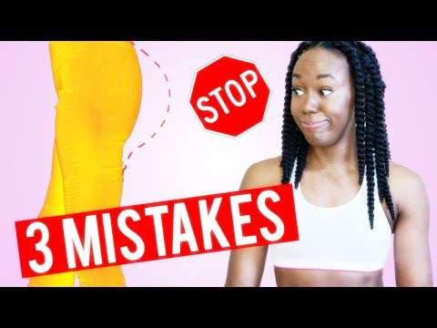 3 BIG MISTAKES THAT GIVE YOU A SMALL BUTT