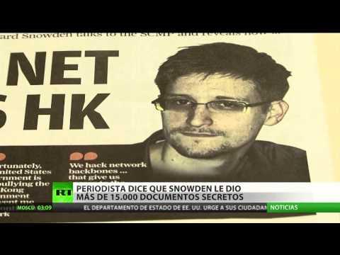 Snowden entregó hasta 20.000 documentos