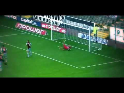 Craig Mackail-Smith overhead volley goal (Burnley vs BRIGHTON) 1 09 2012