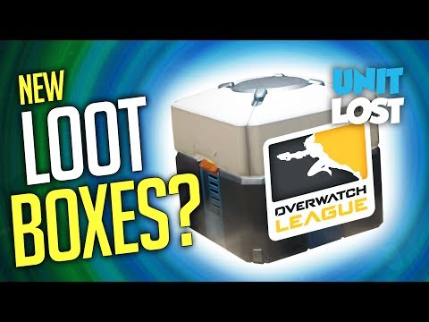 Overwatch - NEW LOOT items coming! (Overwatch League Loot Boxes?!)