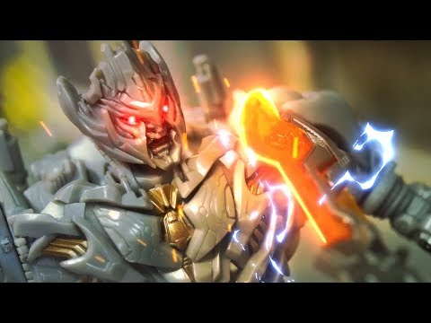 Transformers Stop motion - Megatron VS Optimus Prime