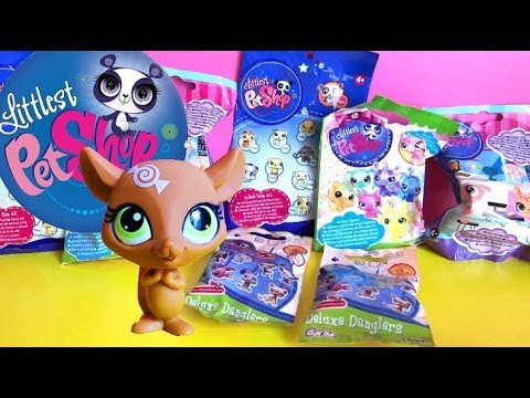 8 Littlest Pet Shop Blind Bags Unboxing